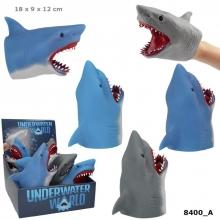 , Dino world handpop haai onderwater- assorti