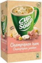 , Cup-a-soup champignon/ham soep 21 zakjes