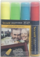 , Krijtstift Securit SMA-720 blok ass 7-15mm blister à 4st