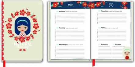 20.001.002 Schoolagenda 2018-2019 lil`ledy hibiscus
