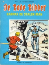 Willy  Vandersteen De Rode Ridder Karpax, de stalen man 082