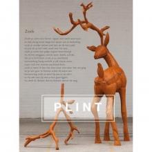 Judith Herzberg , Poëzieposter plint `Zoals`