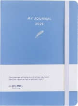 , Agenda 2021 my journal lavendel