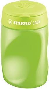,Puntenslijper STABILO Easy 4502 3 in 1 rechtshandig groen