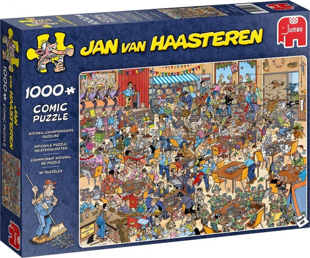 Jum-19090,Puzzel nk legpuzzelen - jan van haasteren 1000
