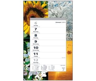 ,Weekscheurkalender vier seizoenen 2021