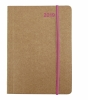 ,<b>Mini Flexi Diary ColourLine PINK 2019</b>