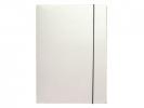 , Elastomap folio 3 kleppen wit