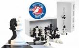 <b>Paco Sako zwart/wit schaken</b>,