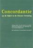 Concordantie op de bijbel, in de NBG-vertaling van 1951