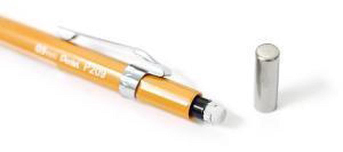 ,Vulpotlood pentel P209 0.9mm geel
