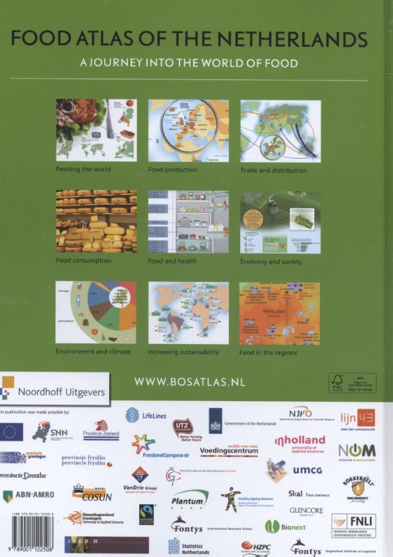 Henk Leenaers, Henk Donkers,Food atlas of the Netherlands