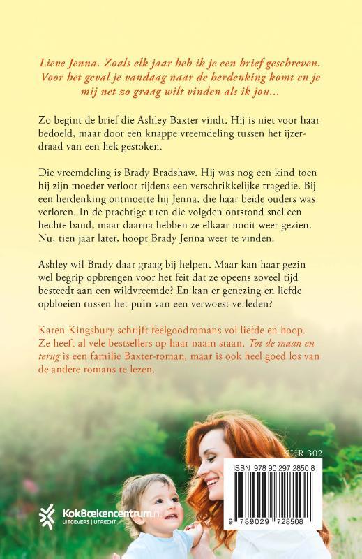Karen Kingsbury,Tot de maan en terug