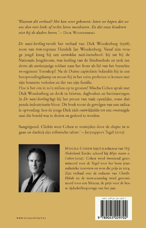 Mischa Cohen,De nazi-leerling