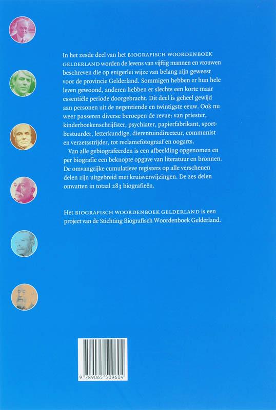 ,Biografisch Woordenboek Gelderland 6
