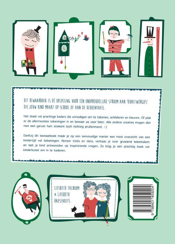 Liesbeth Talboom, Liesbeth Haesevoets, Mama Baas,Het bewaarboek voor tekeningen