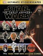DK Star Wars (TM) The Force Awakens Ultimate Stickerscapes