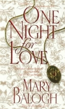 Balogh, Mary One Night for Love