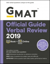 GMAT Official Guide Verbal Review 2019