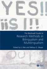 Wei The Blackwell Guide to Research Methods in Bilingualism and Multilingualism