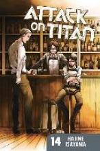 Isayama, Hajime Attack on Titan 14