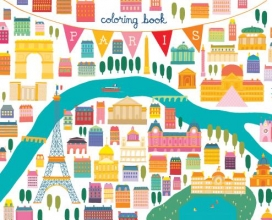 Min Heo Come with Me to Paris Coloring Book