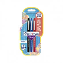 , Fineliner Paper Mate Flair assorti 1.0mm 3 stuks
