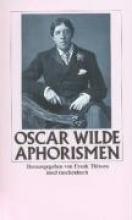 Wilde, Oscar Aphorismen