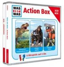 Baur, Manfred,   Falk, Matthias,   Illi, Günther,   Semar, Kristiane WAS IST WAS 3-CD-Hörspielbox