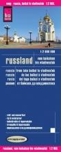 , Reise Know-How Landkarte Russland - vom Baikalsee bis Wladiwostok 1 : 2 000 000