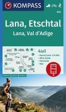 , Lana, Etschtal Lana, Val d´Adige 1:25 000