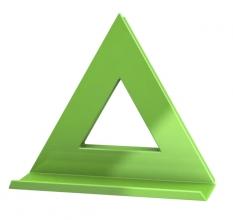 , Mega Magnet Dahle Delta XL groen
