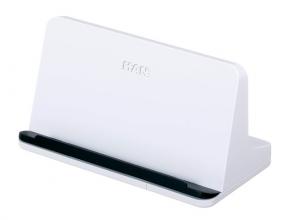 , tablet standaard HAN Smart Line 135x72x74mm wit
