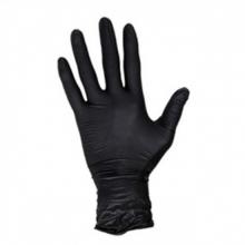 , Handschoen Masterglove nitril L zwart 100 stuks