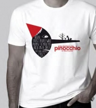 The Adventures Of Pinocchio White Large T-shirt