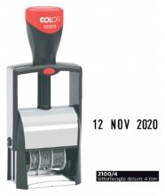 , Datumstempel Colop 2100 Classic 4mm kussen zwart