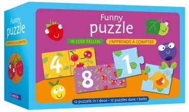 , Funny puzzle - ik leer tellen Funny puzzle - j`apprends à compter