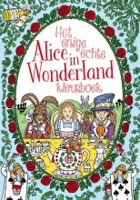 Hannah  Davies Het enige echte Alice in Wonderland kleurboek