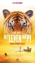 Yann  Martel Het leven van Pi, 6 cd`s, voorgelezen door Kees Hulst, verkorte versie