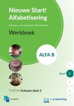 , Nieuwe Start Alfabetisering Alfa B Deel 2 + e-learning Werkboek
