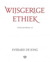 Everard De Jong , Wijsgerige ethiek