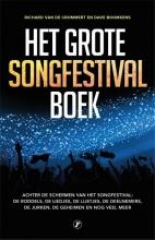 Dave Boomkens Richard Van de Crommert, Het grote songfestival boek