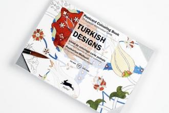 Pepin van Roojen Turkish Designs - Postcard Colouring Book