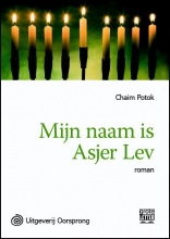Chaim  Potok Mijn naam is Asher Lev - grote letter uitgave