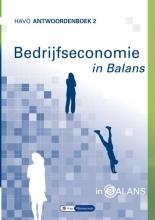 Tom van Vlimmeren Sarina van Vlimmeren, Bedrijfseconomie in Balans 2 havo antwoordenboek