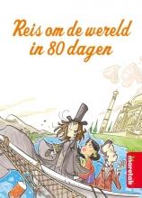 Roberto Piumini Jules Verne, Reis om de wereld in 80 dagen