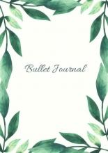 Mooie  Gastenboeken Mijn Bullet Journal |A5 Notebook Botanisch Leaves Bladeren De natuur | Notitieboek Met Dotted Papier Met 120 Pagina`s | Prachtig Schrijven