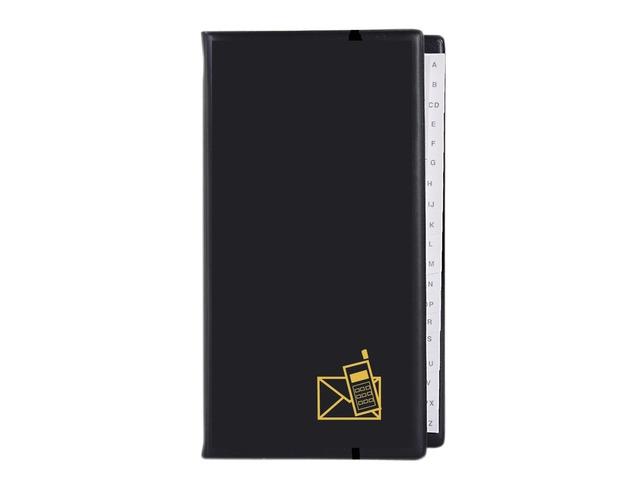 ,Telefoonalbum KTC K-6200 A-Z 4-rings zwart