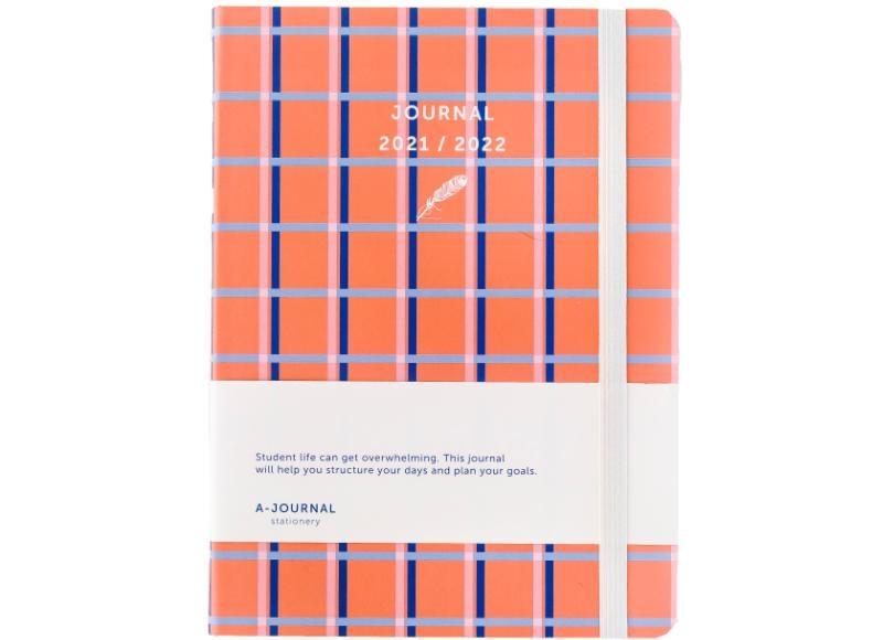 ,A-Journal Schoolagenda 2021/2022 - Oranje Ruit