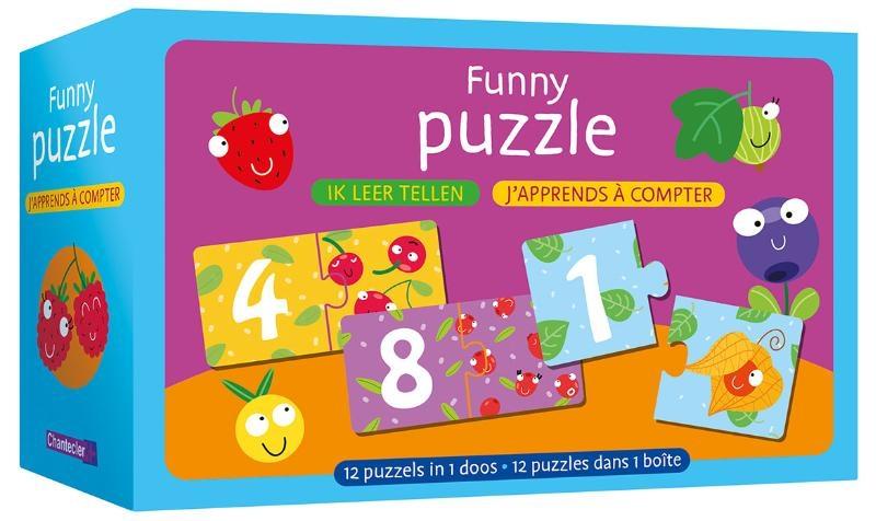 ,Funny puzzle - ik leer tellen Funny puzzle - j`apprends à compter